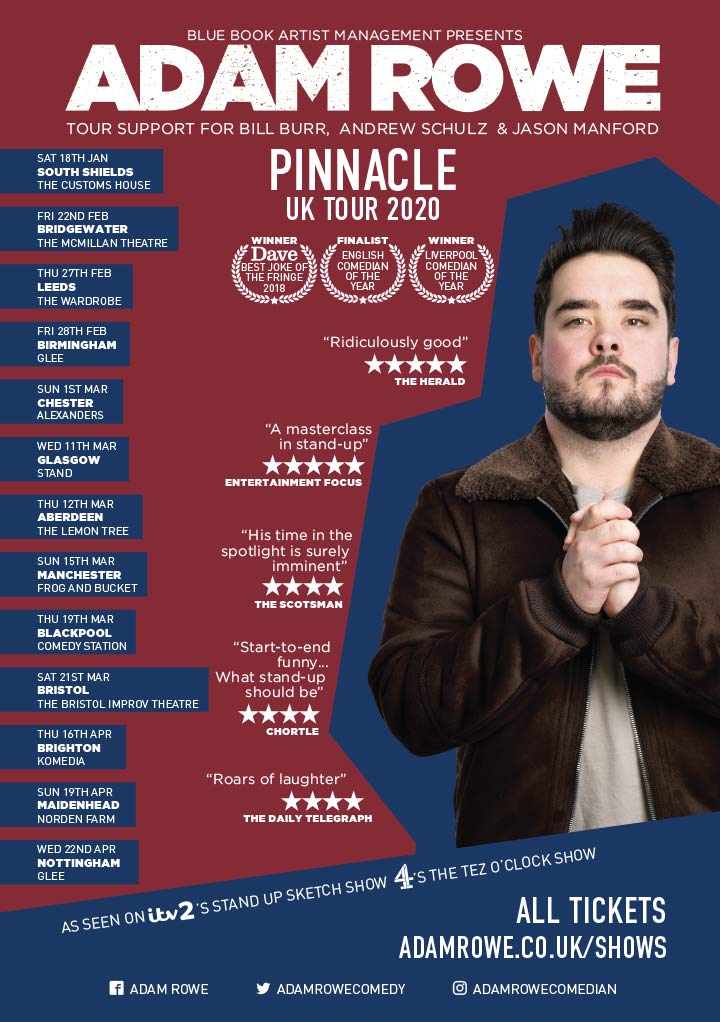 Adam Rowe Pinnacle 2020