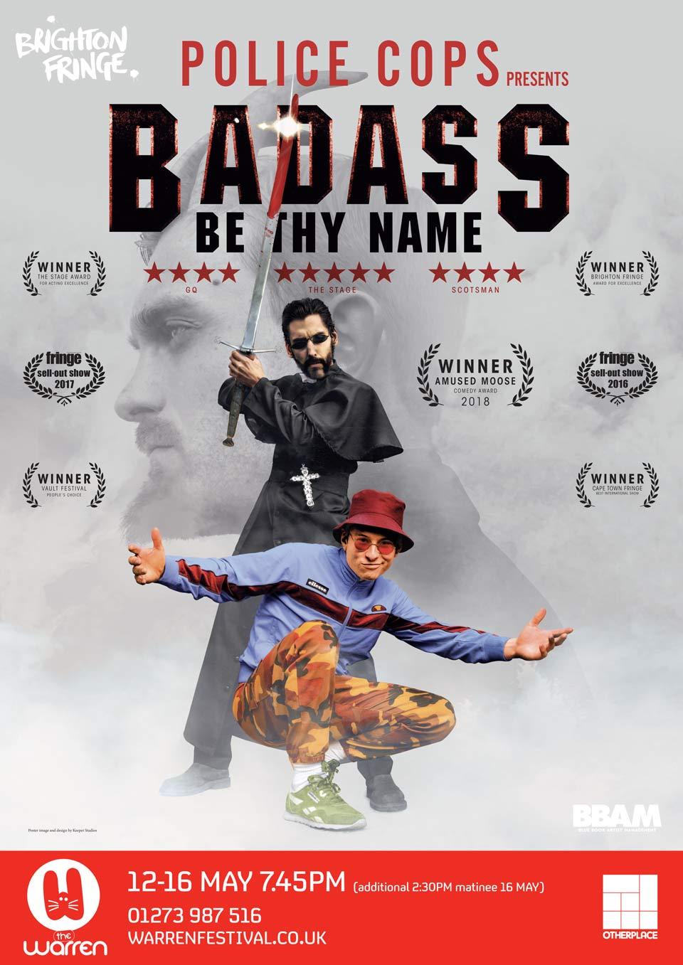 Police Cops Badass poster