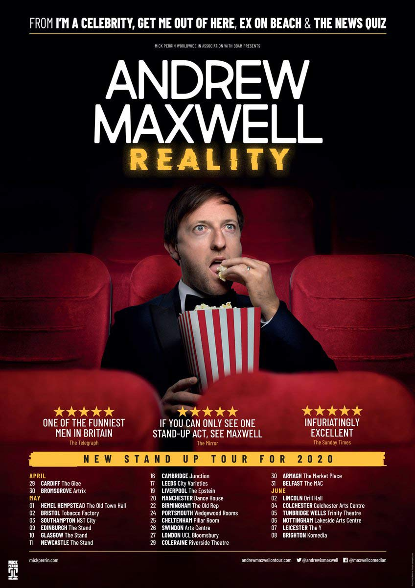 andrew maxwell reality
