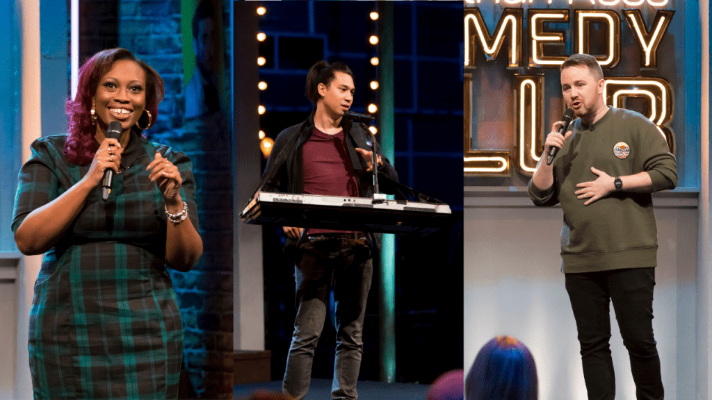 Jonathan Ross' Comedy Club with Sikisa, Huge, and Stephen