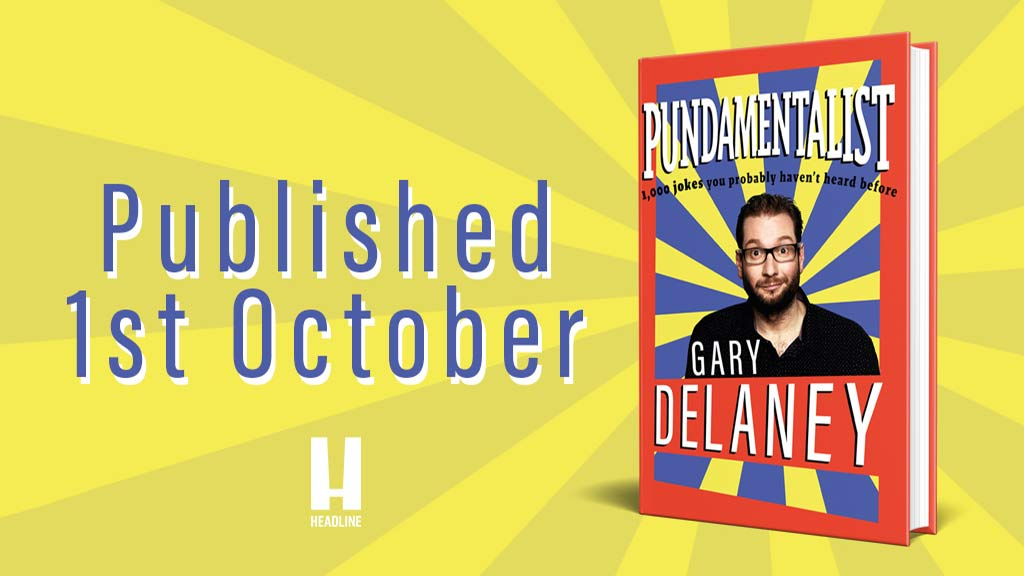 Gary Delaney's Book On Sale Now