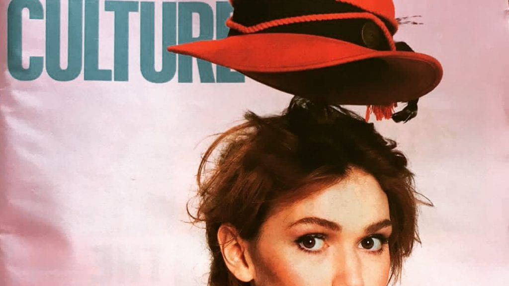 Elf Lyons THIRD time on Sunday Times Culture cover