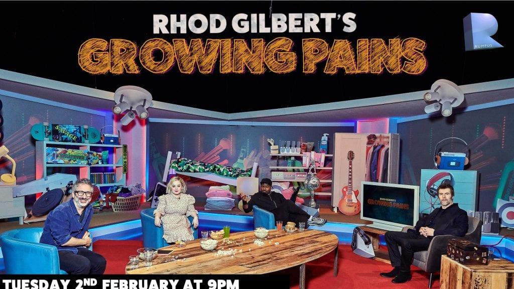 Darren Harriott will be on Rhod Gilbert's Growing Pains TONIGHT