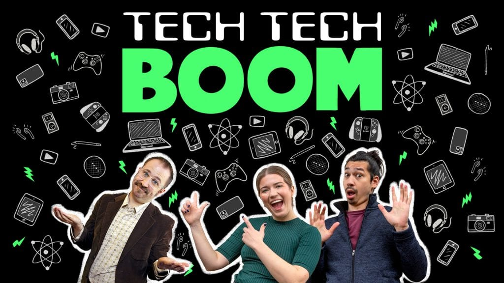 Huge Davies stars in new spoof tech podcast for BBC Sounds