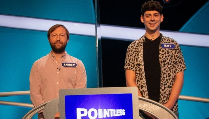 Andrew Maxwell and Matt Richardson on Pointless Celebrities this Saturday (12 June)