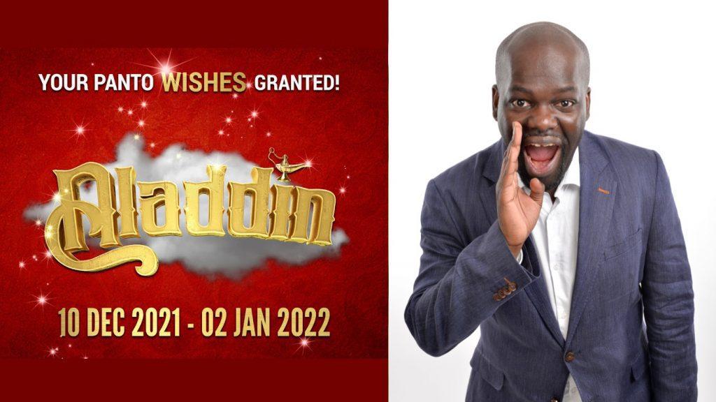 Daliso Chaponda joins Harlequin Theatre's Aladdin