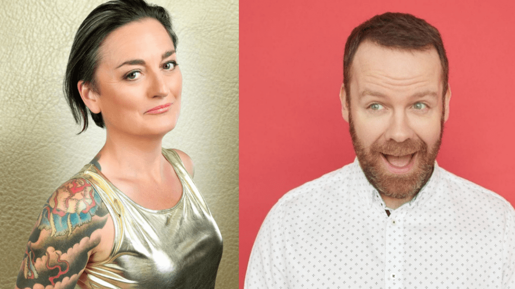 Zoe Lyons and Neil Delamere on BBC Radio 4's 'The News Quiz'