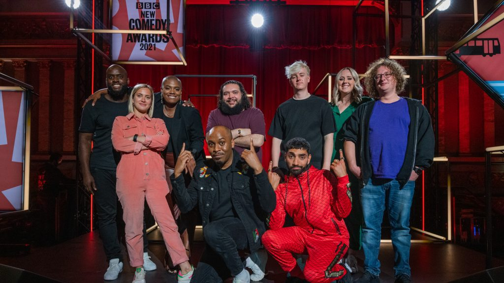 Blue Book acts on the BBC New Comedy Awards on BBC 3 and iPlayer